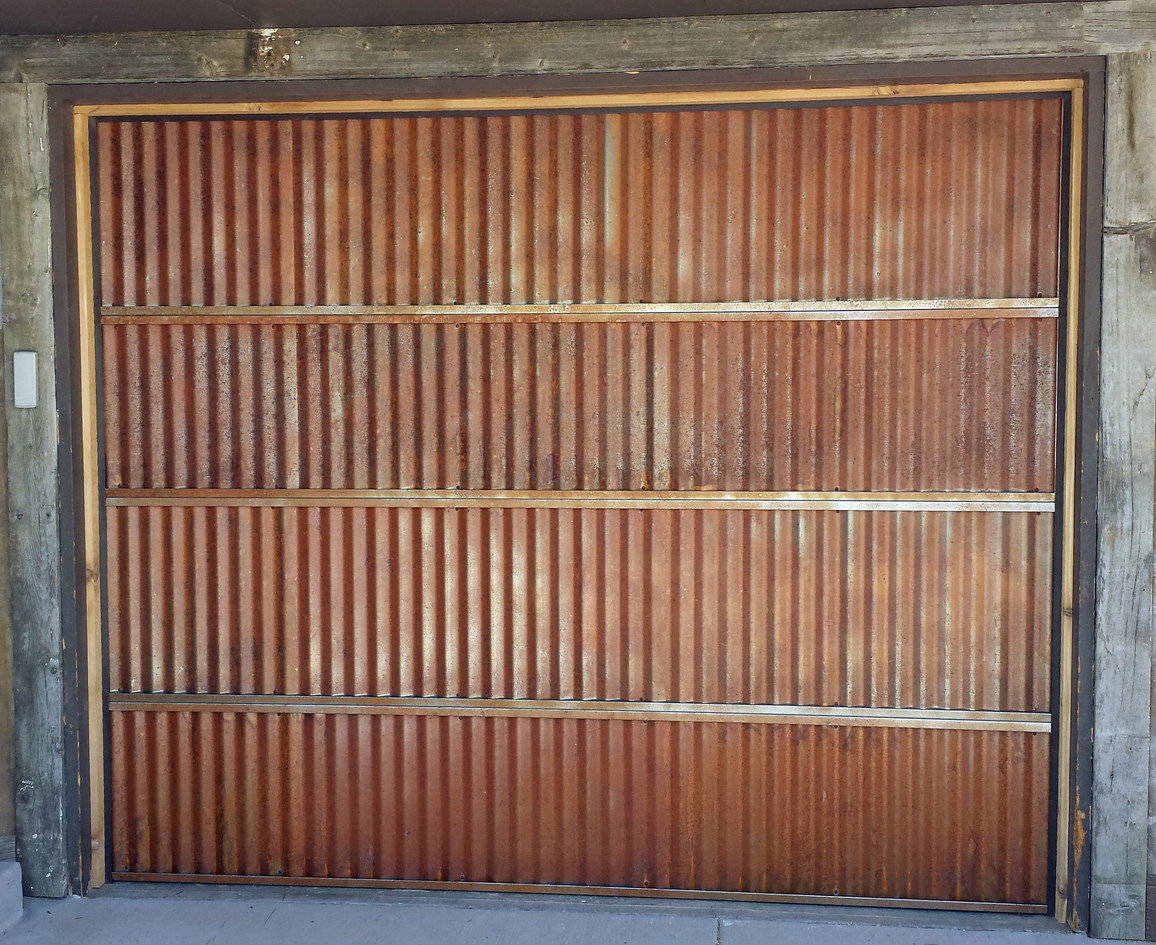 Corrugated Metal Overlay