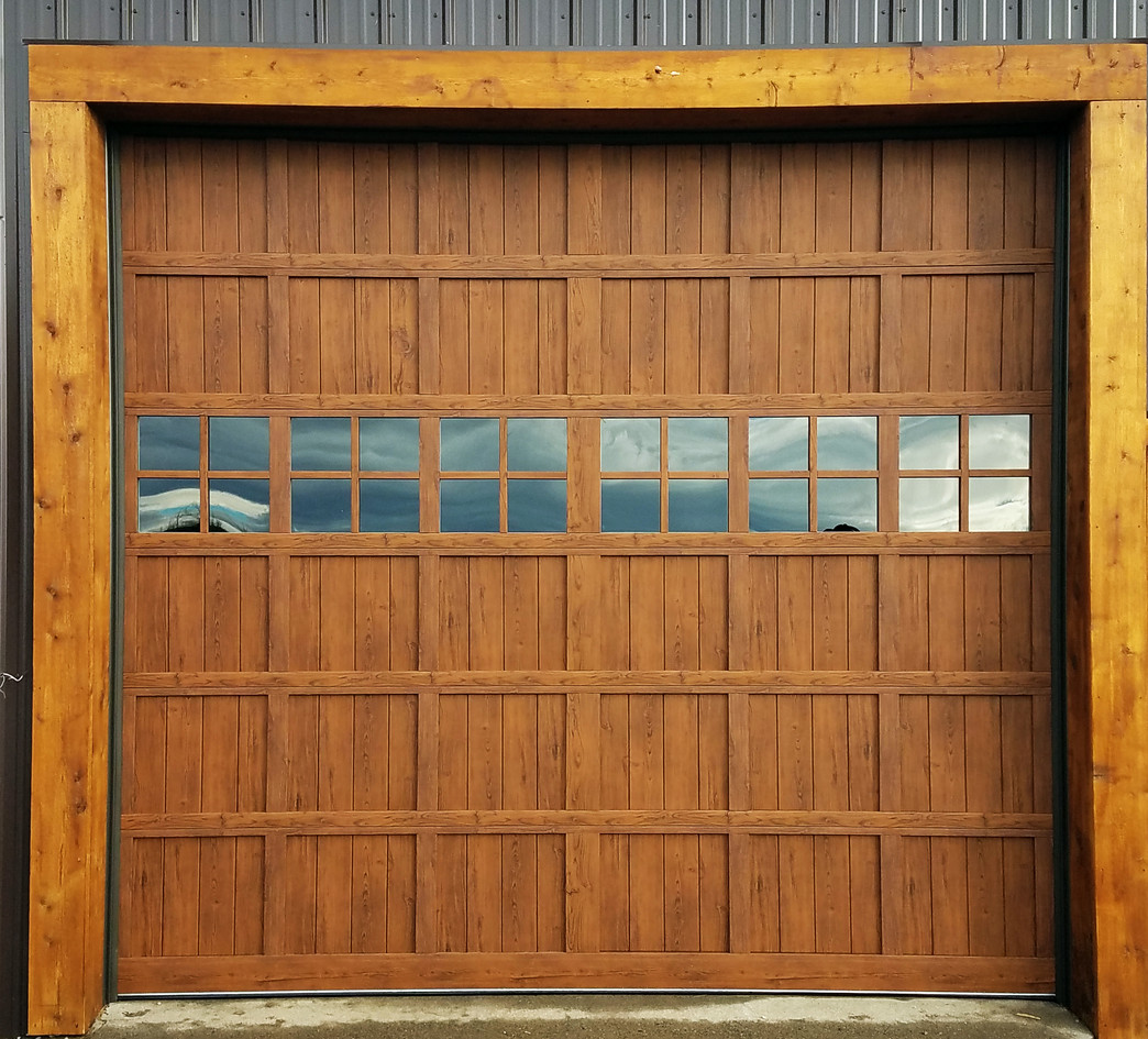 Martin Woodgrain Steel door