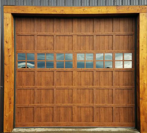 Martin Woodgrain Steel door
