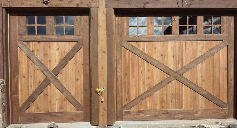 Custom Wood with Windows