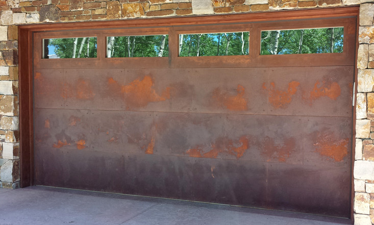 Metal to Rust with windows