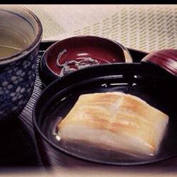 焼き餅入り小豆ごろごろおぜんざい¥700.