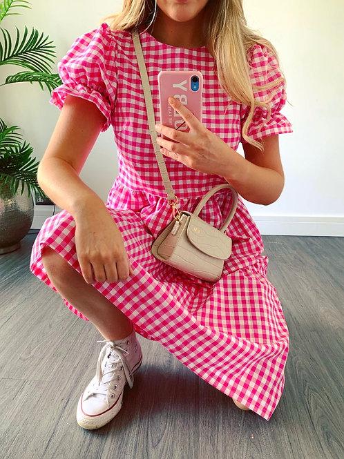 Betsy Dress - Bubblegum