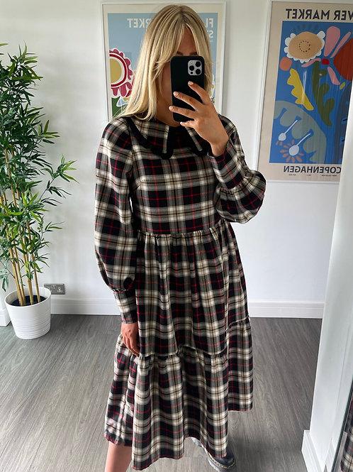 Blaire Dress - Tartan