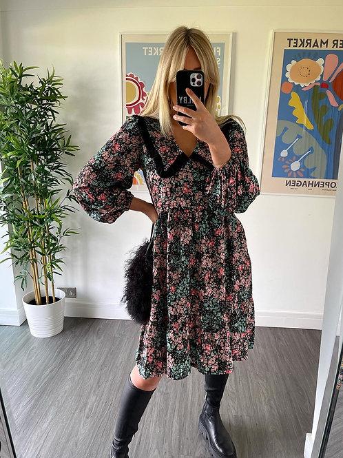 Bertie Dress - Floral Short