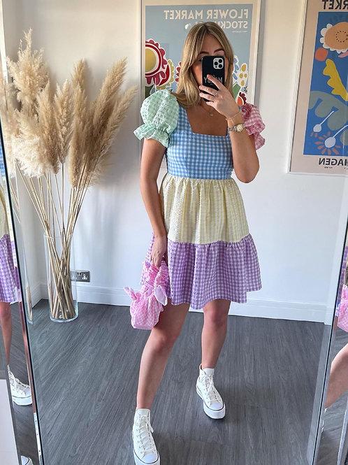 Polly Dress - Rainbow