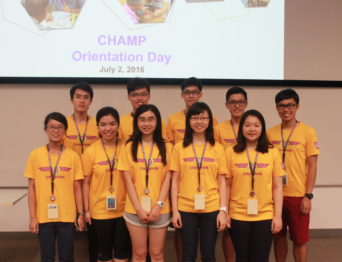 CHAMP Orientation Day