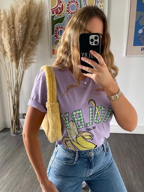 Banana T Shirt - Lilac