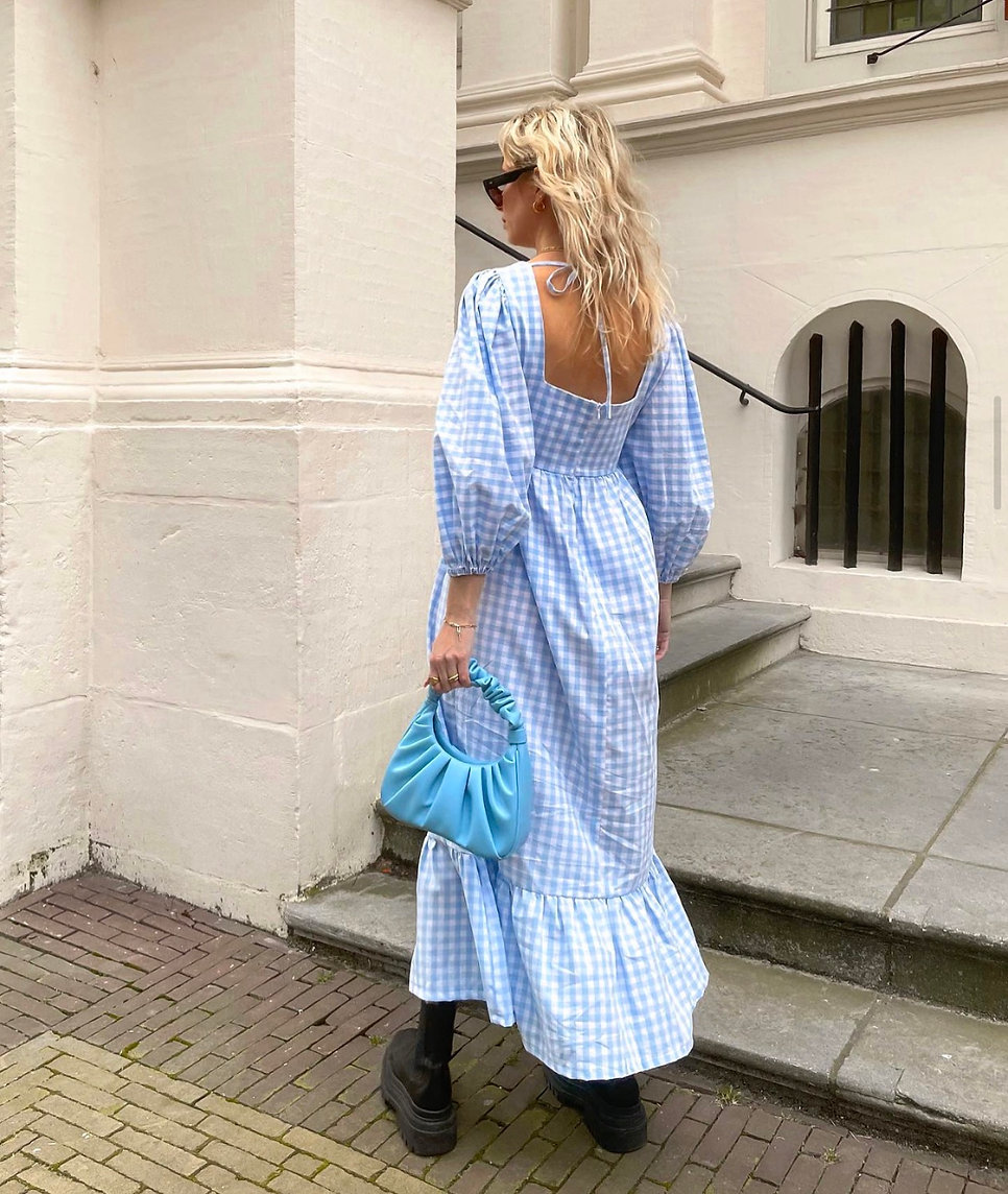 Patty Dress - Baby Blue molby the label