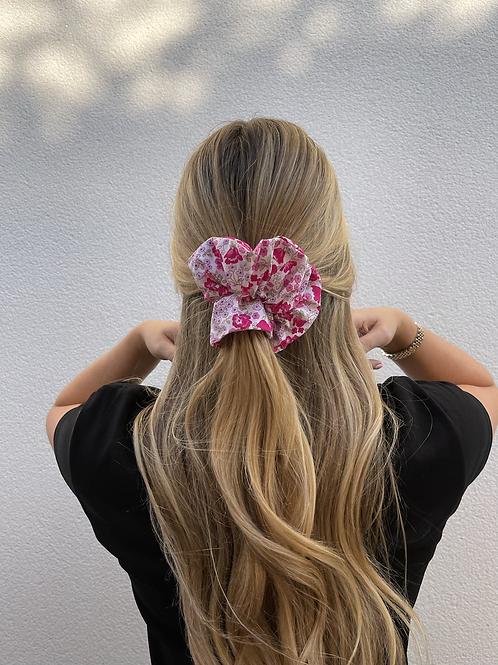 Bertie Scrunchie - Pink Floral