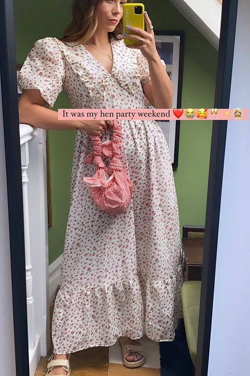 Bertie Dress - Red Floral