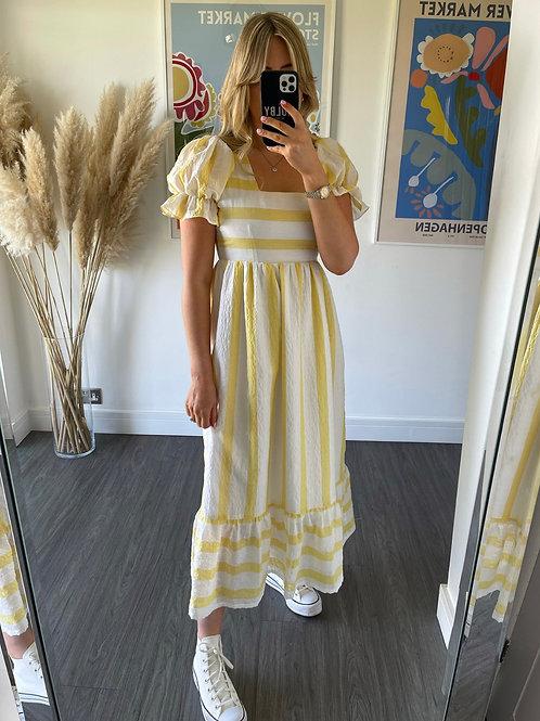 Delilah Dress - Lemon
