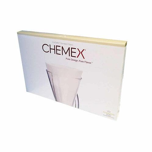 Filtros Blancos para Chemex 3 tazas