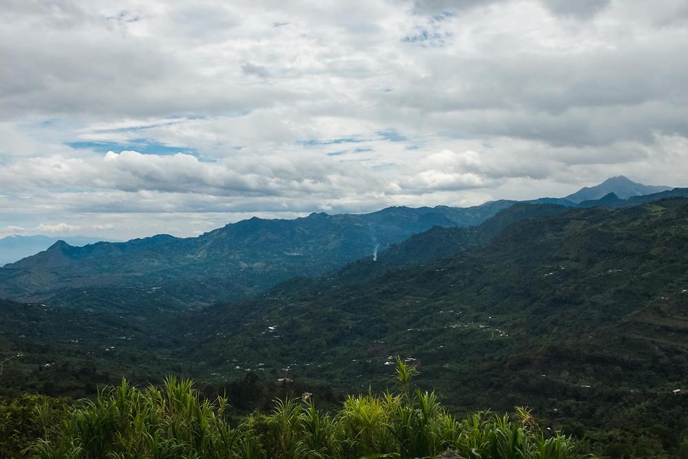 Paisaje montañoso Nariño