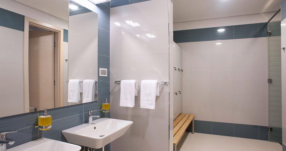 Male dressing room