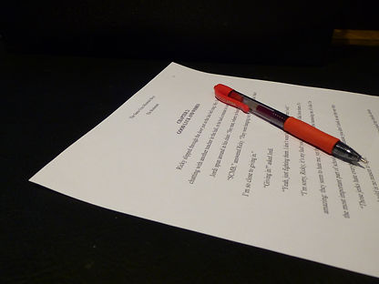 Writing, editing and proofreading