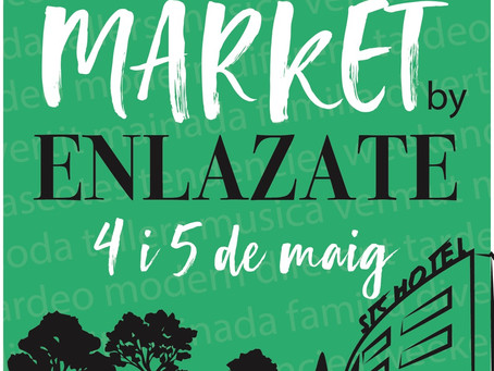 Save the Date  Market by ENLAZATE