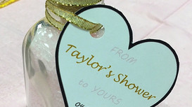 DIY Bridal Shower Favors