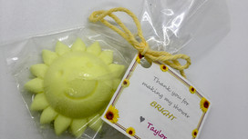 DIY Sunshine Baby Shower Favors
