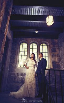 Bride Stephanie and Her Groom!