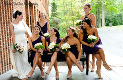 Bride and Party Makeup