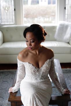 Editorial Bridal Makeup Photoshoot