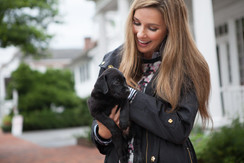 Lauren Fitzgerald and The Cutest Pup!
