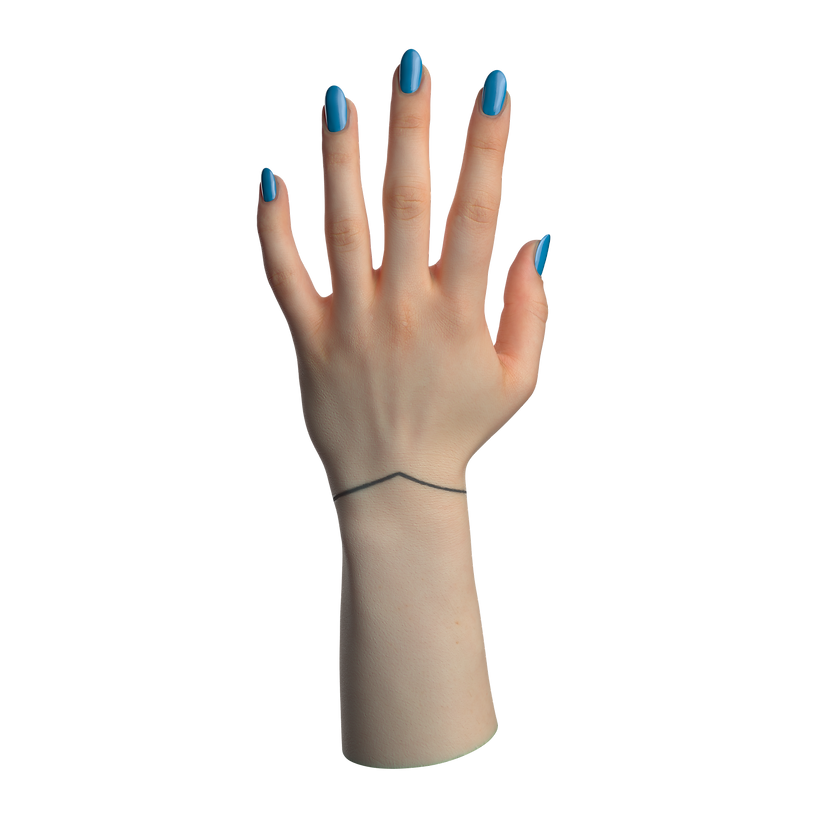 Female Hand Subsurface Scattering #2