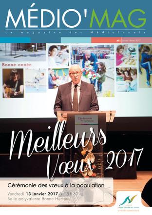 Médiio' Mag #15 janvier février 2017