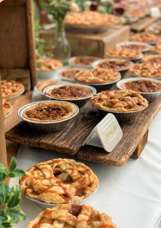 Mini Wedding Pies.KCB