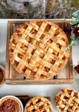 Apple Lattice Wedding Pie.KCB