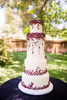 Forest Themed Wedding Cake