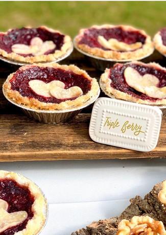 Triple Berry Mini Pies.KCB