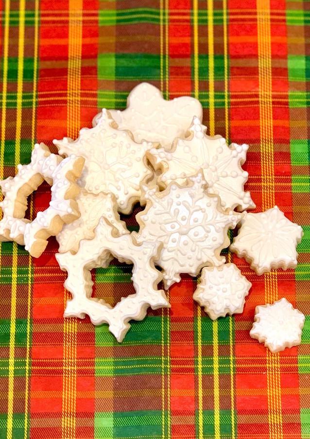 Snowflake Cookies.KCB