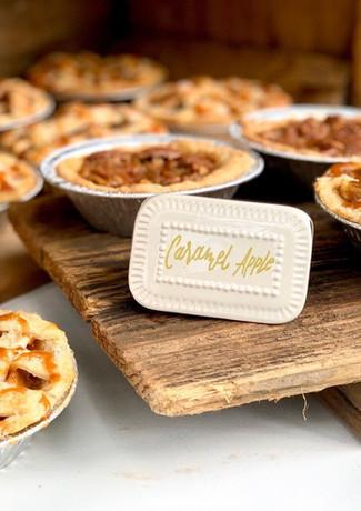 Mini Apple Lattice Pies.KCB