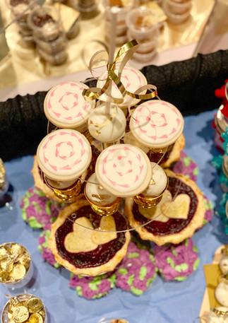 Pink Heart Sugar Cookies.KCB