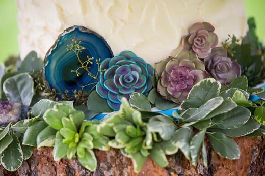 Handmade Sugar Succulents