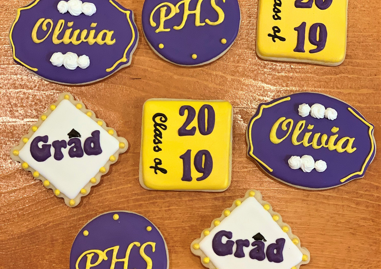 PHS Graduation Cookies.KCB
