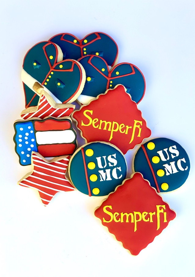 Marine Themed Sugar Cookies.KCB