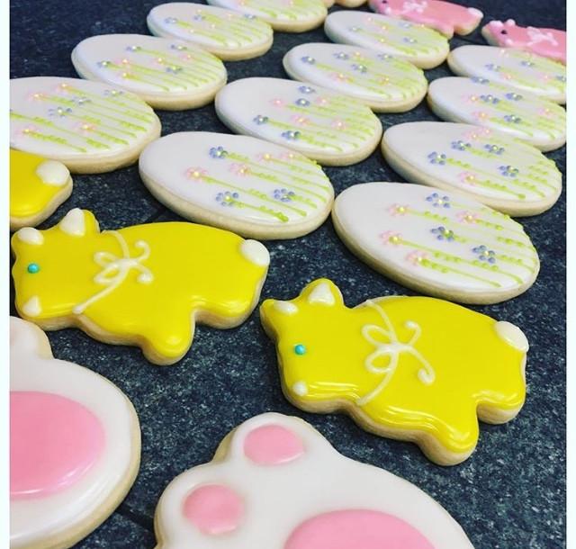 Easter Sugar Cookies.KCB