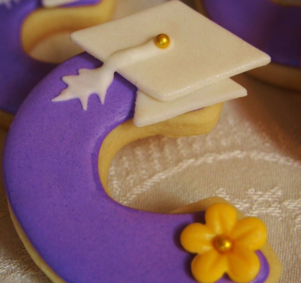 Personalized Grad Cookies.KCB