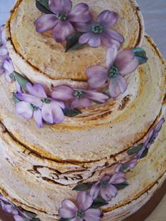 Dogwood Wedding Cake