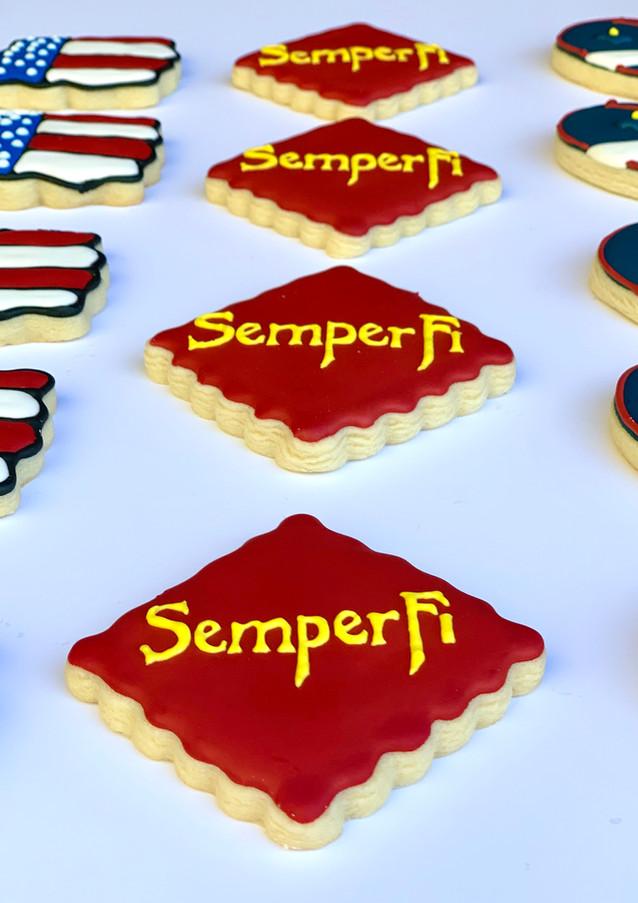 Semper Fi Sugar Cookies.KCB