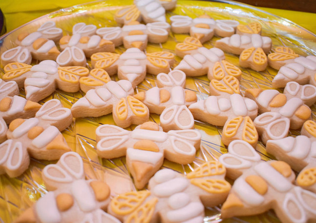 Bee Cookies.KCB