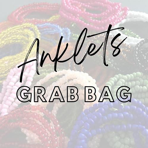 5 Seed Bead Anklets Grab Bag
