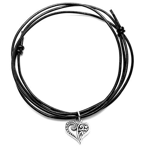 Tribal Heart Choker Necklace
