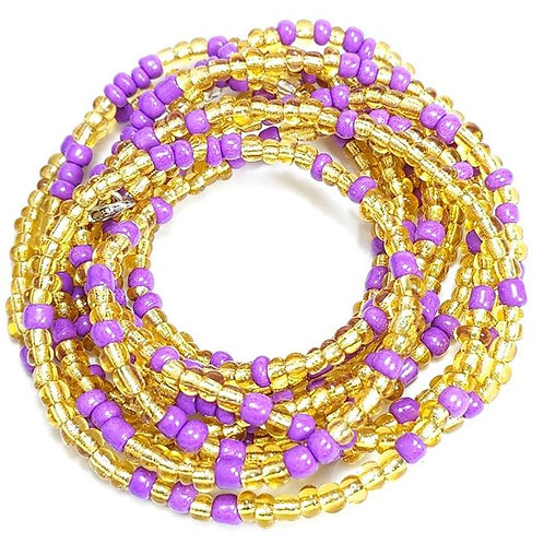 Lilac and Transparent Gold
