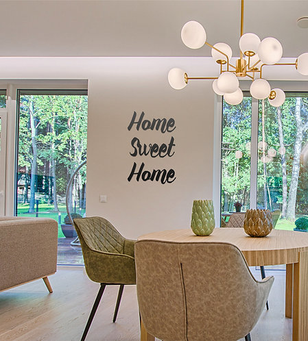Acrylic Lettering - Dining Room