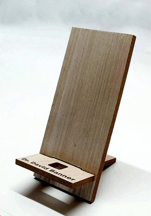 Mobile phone holder Custom Engraved