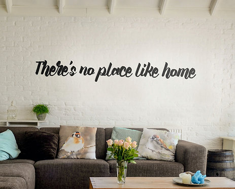 Acrylic Lettering - Living Room